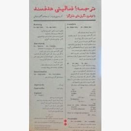 ترجمه؛ فعالیتی هدفمند با توضیح نگرشهای نقشگرا